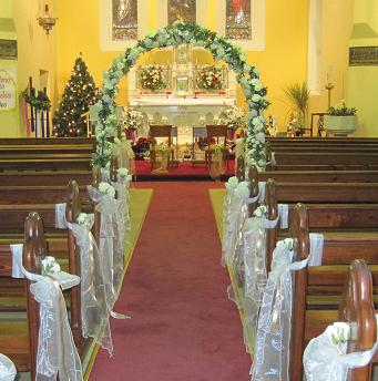 Cheap Church Wedding Decorations | Wedding Ceremony Church